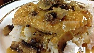 Amy's Easy Chicken And Mushrooms With Rice