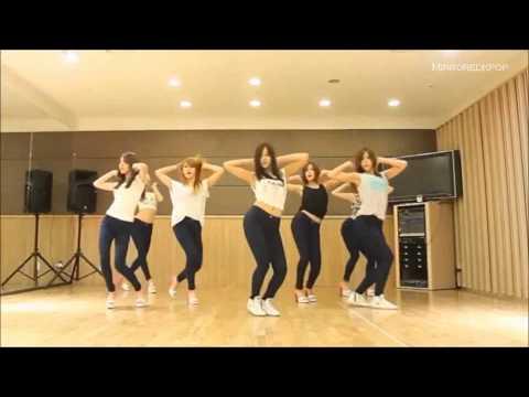 [HD] AOA - Short Hair mirrored Dance Practice