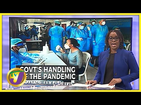 Jamaican Gov't Handling of the Pandemic Decline Significantly   TVJ News