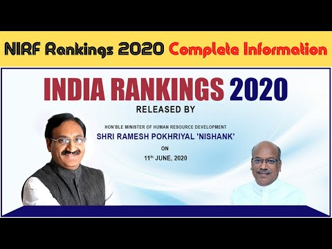 nirf-india-rankings-2020-|-nirf-rankings-2020-complete-information-|-nirf-ranking-2020-list-|-#teg