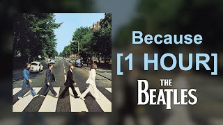 The Beatles - Because [1 HOUR]
