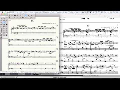 Finale Fastest Note Entry Method, Speedy Entry With Midi