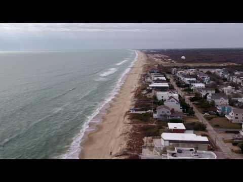 DJI Inspire 2 Drone Flight, Virginia Beach Boardwalk / Owl Creek