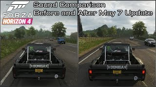 Forza Horizon 4 - Hoonigan Ford F-150 'Hoonitruck' Sound Comparison - Before and After May 7 Update