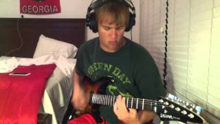 Green Day Guitar Cover: 1. Burnout