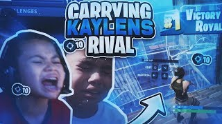 Carrying Kaylen The Gods Nemesis To Victory *10 Frag Solo Duo* (Fortnite Battle Royale)