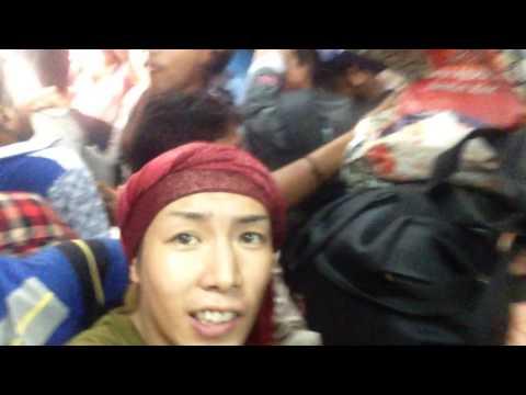 【スラム】インド最下層の電車が酷すぎる