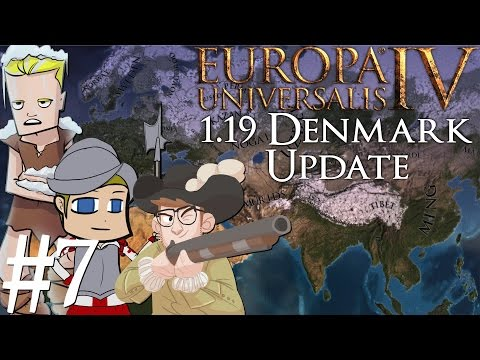 Europa Universalis 4 | Denmark 1.19 patch | Part 7 | Spread