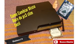 COMO CAMBIAR  DISCO DURO PS3 SLIM 😁😁