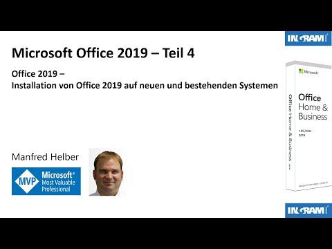 Installation von Office 2019 auf neuen und bestehenden Systemen