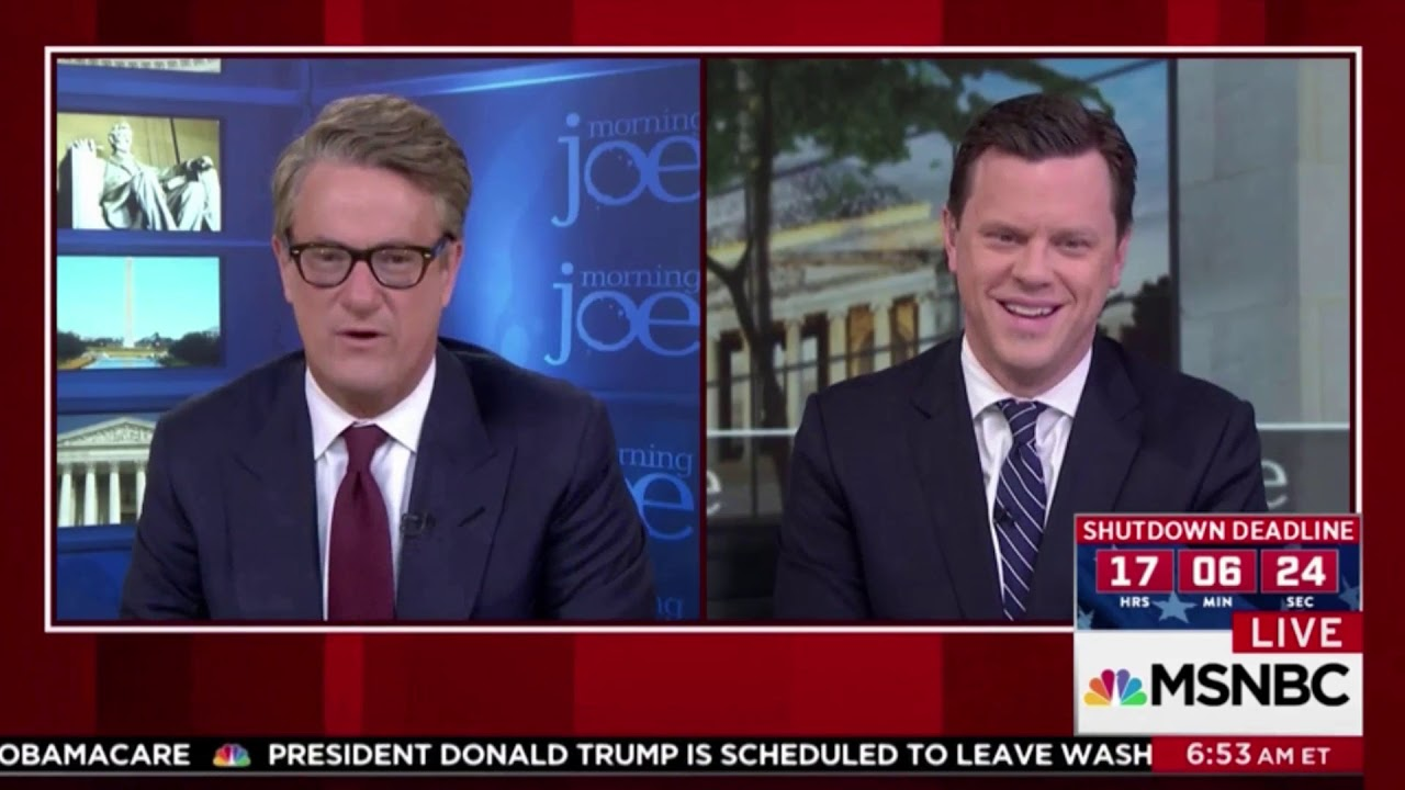 Morning Joe' guest blamed 'technician' for being late — then