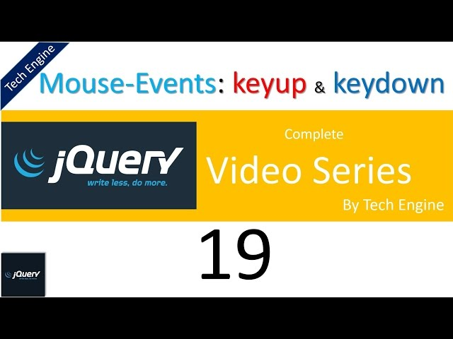 keyup video, keyup clip