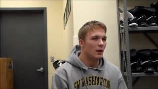 Union wrestler Six Buck talks about his transition from injury into an assistant coach