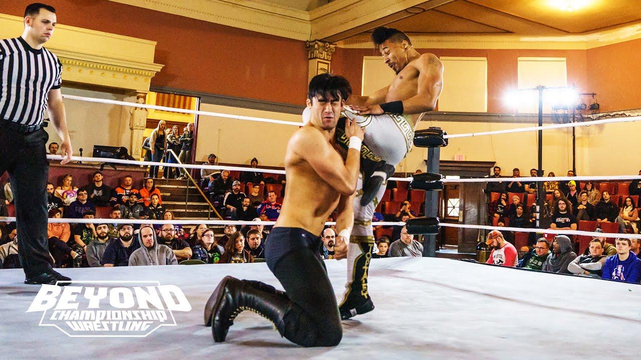 (Free Match) Winner Gets USB Drive: Christian Casanova vs. HACKMAN | Beyond Championship Wrestling