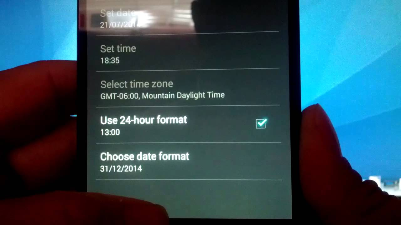 How to Change Time Format on Android Smartwatch