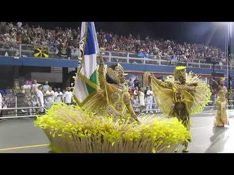 Casal oficial de Mestre Sala e Porta Bandeira Vila Maria -2018