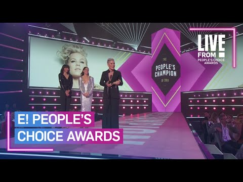 Rob Powers - P!nk's People's Choice Speech - Beyond Inspiring! [WATCH]