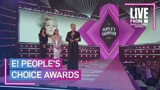 Pink Inspires While Accepting E! People's Champion Award | E! People's Choice Awards