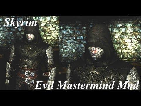Skyrim Evil Mastermind Armour Mod Youtube