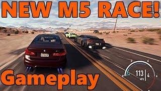 Need For Speed Payback NEW RACE GAMEPLAY w/ NEW BMW M5!!