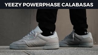 adidas Yeezy Powerphase Calabasas - Pick up and Review + Off White Industrial Belt