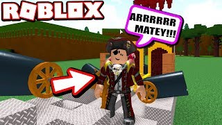 BECOMING A PIRATE TO STEAL ROBLOX TREASURES!!!