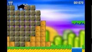 Bull Rush - addictive jump&run platform game