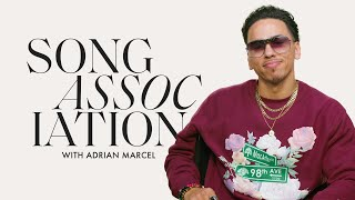 Adrian Marcel Sings Drake, The Jackson 5, and Destiny's Child in a Game of Song Association | ELLE