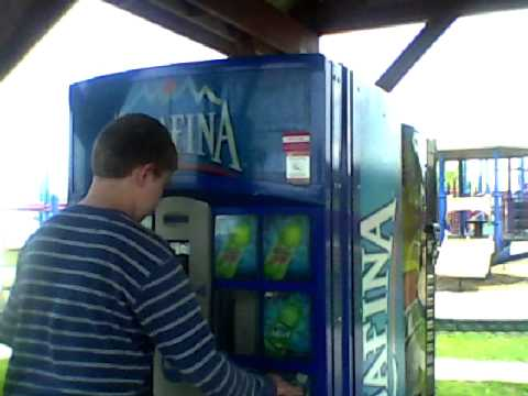 Aquafina Vending Machine Youtube