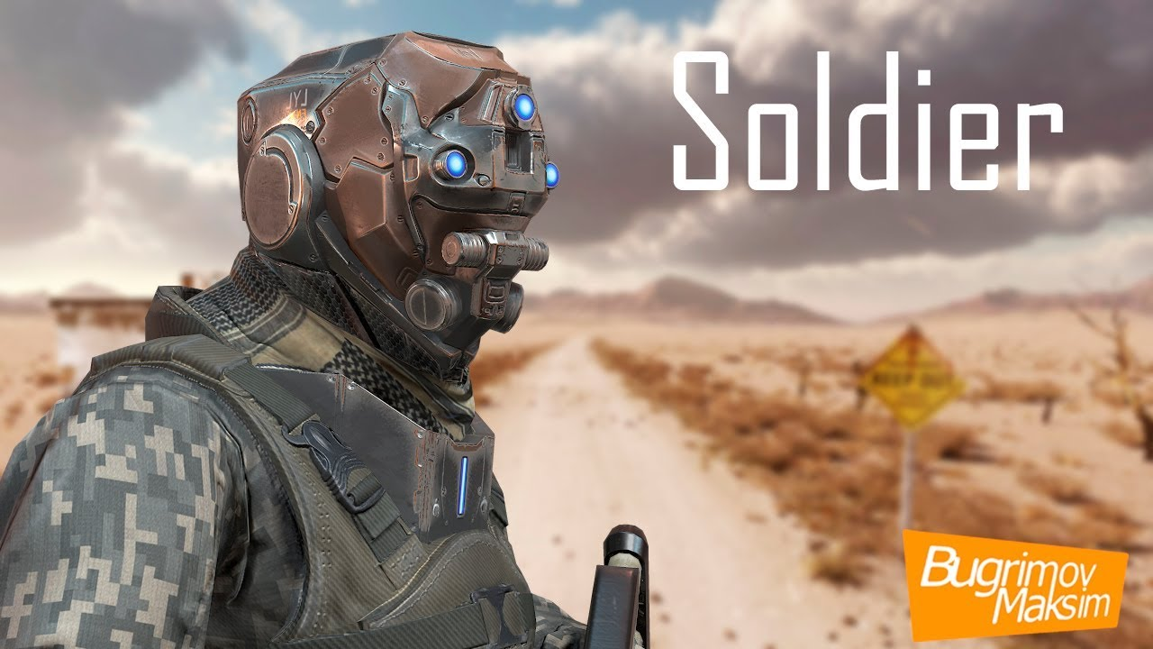 Soldier Humanoid Unity5 and Skeleton UE4 - YouTube
