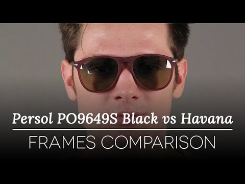 Persol PO9649S Havana vs Black Sunglasses Review