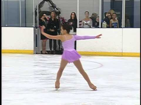 Pasadena California Ice Skating Center Competitions Bibiane Molina 1st Place
