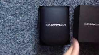 Emporio Armani AR2448 Watch Unboxing (100% authentic)