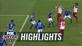 FC Schalke 04 vs. FC Augsburg | 2017-18 Bundesliga Highlights