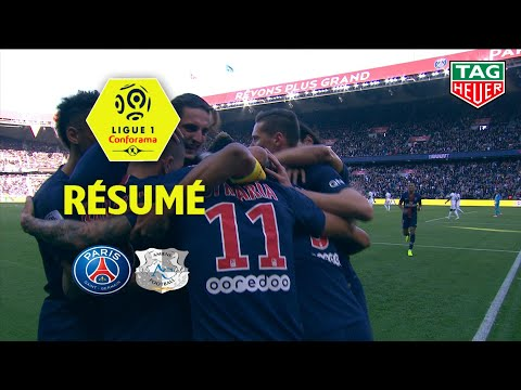 Paris Saint-Germain - Amiens SC ( 5-0 ) - Résumé - (PARIS - ASC) / 2018-19