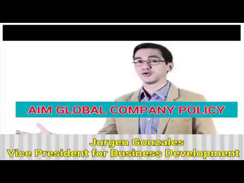 AIM Global Company Policy Explained by Jurgen Gonzales (AUDIO)