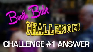 2015 SEMA V8TV Booth Babe Challenge #1 Answer