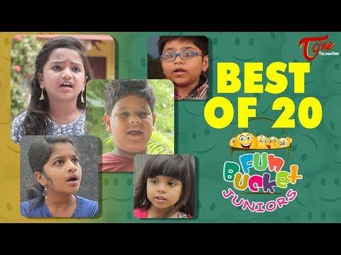 Fun Bucket JUNIORS | Best Of 20 | Kids Funny Videos | Comedy Web Series
