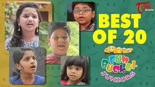 Fun Bucket JUNIORS | Best Of 20 | Kids Funny Videos | Comedy Web Series
