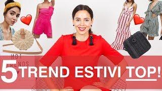 La classifica dei 5 capi più cool dell'estate 2018! Come vestirsi alla moda! |  Irene's Closet