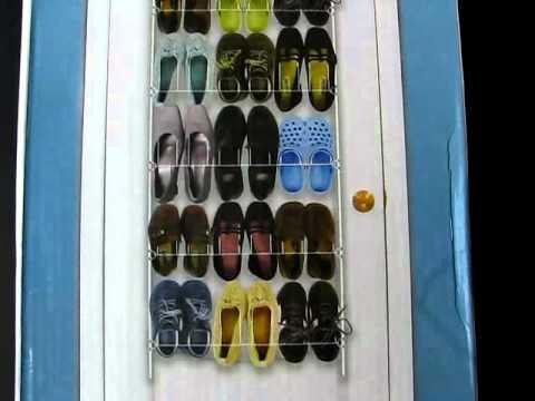 Organizador de zapatos en youtube - Organizador de zapatos ...