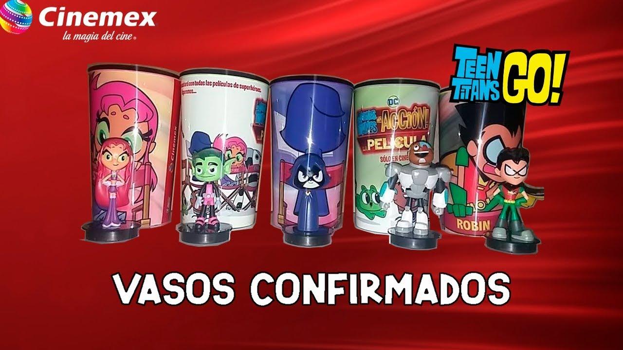 480a899311c Promocionales Cine  Teen Titans Go! (Jóvenes Titanes en Acción ...