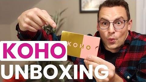 Unboxing Koho Metal Visa Card