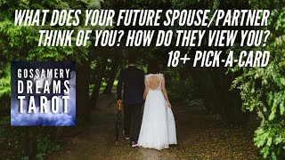 What Does Your Future Spouse/partner Think Of You?-how Do They View You? Pick-a-card