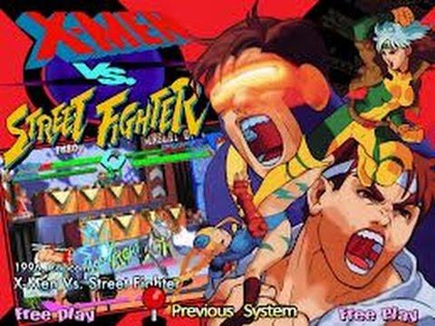X-Men vs. Street Fighter (Arcade)