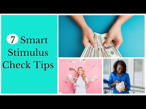 7 SMART MONEY MOVES FOR YOUR STIMULUS CHECK