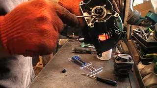 Как правильно заменить сальники коленвала на мотокосе или бензопиле