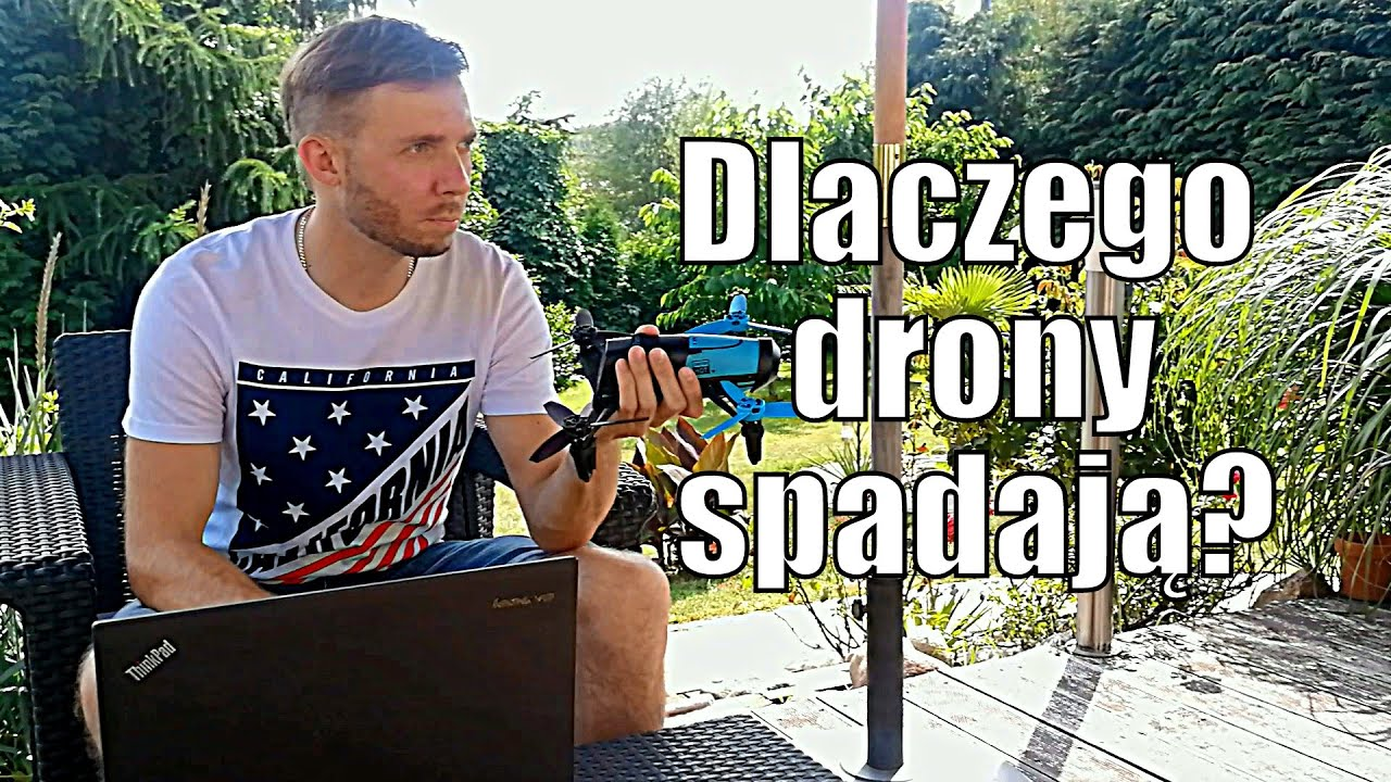 Dlaczego drony spadają? Moja pierwsza kraksa Parrotem.