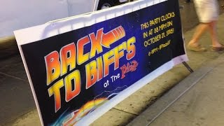 Back to the Future day at Biff