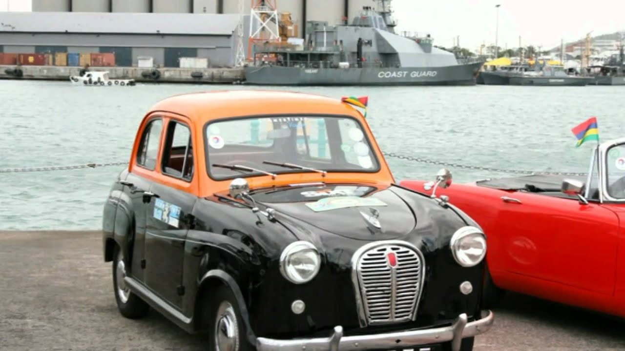 Mauritius Classic Cars HD - YouTube